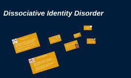 Disorder Dissertation Dissociative Identity Report Essay